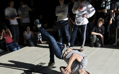 Breakdance Competition - Peace Gardens - Tramlines 2014 - Photo Gerard Morgan