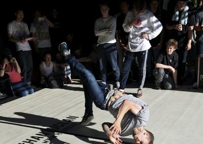Breakdance Competition - Peace Gardens - Tramlines 2014 - Photo Gerard Morgan