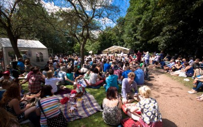 Crowd - Folk Forest - Tramlines 2014 - Photo Simon Butler - Compressed