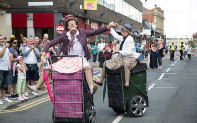 Granny Tourismo - Tramlines 2014 - Photo Jamie Boynton