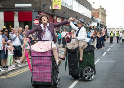 Granny Tourismo - Tramlines 2014 - Photo Jamie Boynton