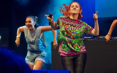 Katy B - Main Stage - Tramlines 2014 - Photo Gary Wolstenholme