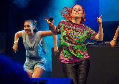Katy B - Main Stage - Tramlines 2014 - Photo Gary Wolstenholme