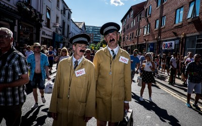 Street Performers - Tramlines 2014 - Photo Dan Sumption