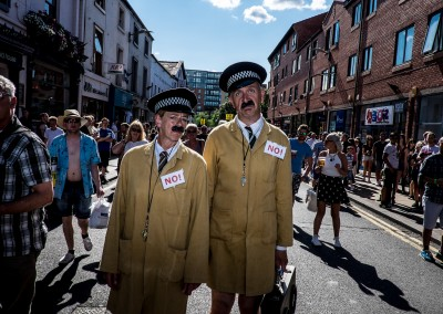 Street Performers - Tramlines 2014 - Photo Dan Sumption