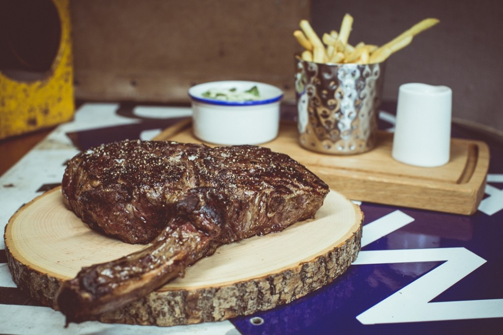 Tomahawk Steak - Approx 2lb Bone-in Ribsteak, Bone Marrow Gravy_2