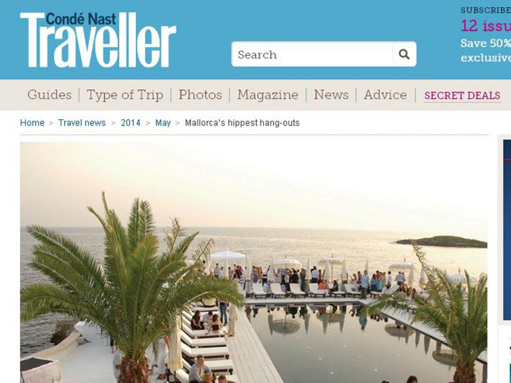 Puro Desert Lounge in Conde Nast Traveller
