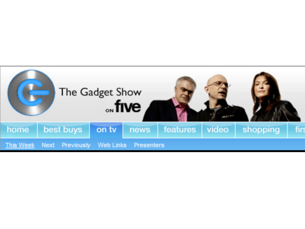 Tonium Pacemaker on The Gadget Show