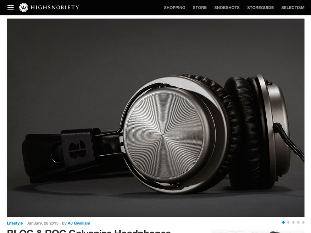 Bloc & Roc featured on Highsnobiety