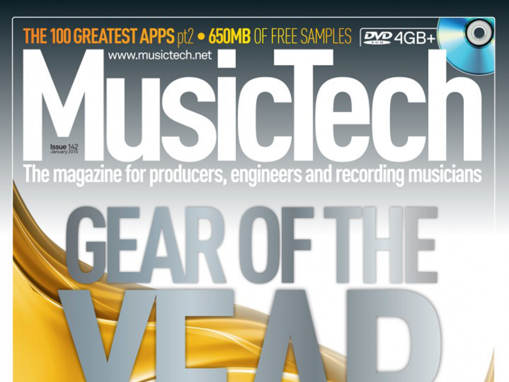 UDG Creator DIGI Hardcase makes Music Tech 'Gear of The Year' issue