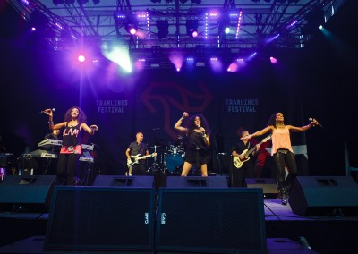 Sister Sledge - Main Stage - Tramlines 2014 - Photo Andy Benge