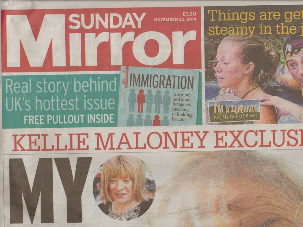X-mini CLEAR in the Sunday Mirror