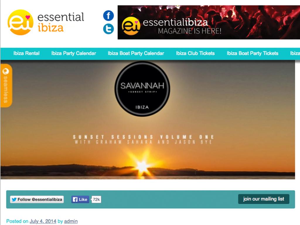 Savannah in Essential Ibiza
