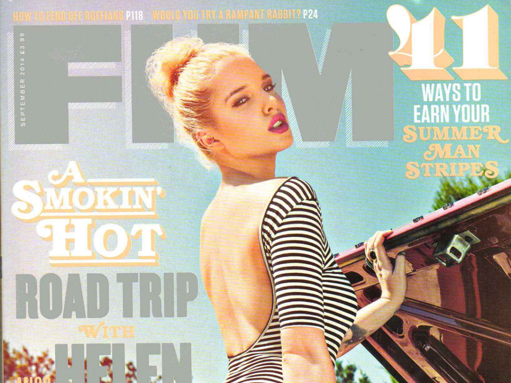 Pukka Up in FHM