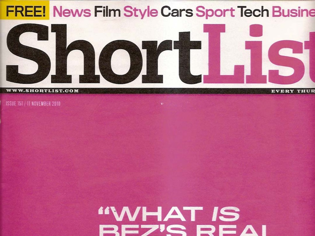 Marshall Headphones in ShortList Magazine