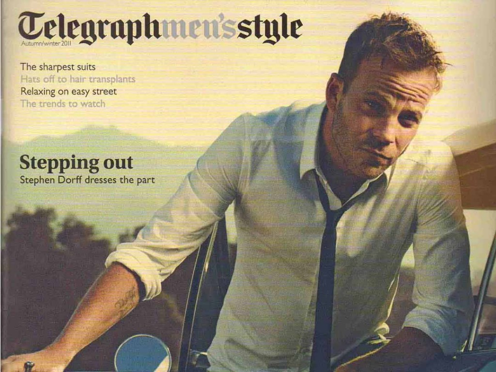 Marshall Headphones in The Sunday Telegraph Men's Style Mag