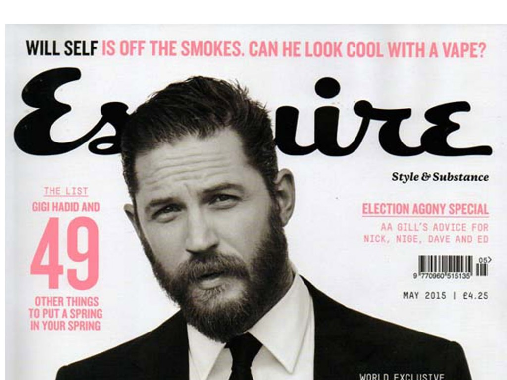 X-mini CLEAR featured in Esquire