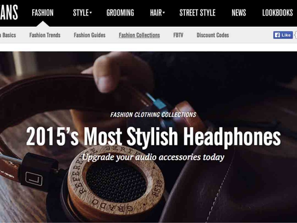 Fashion Beans List Bloc & Roc in Top 10 Most Stylish Headphones