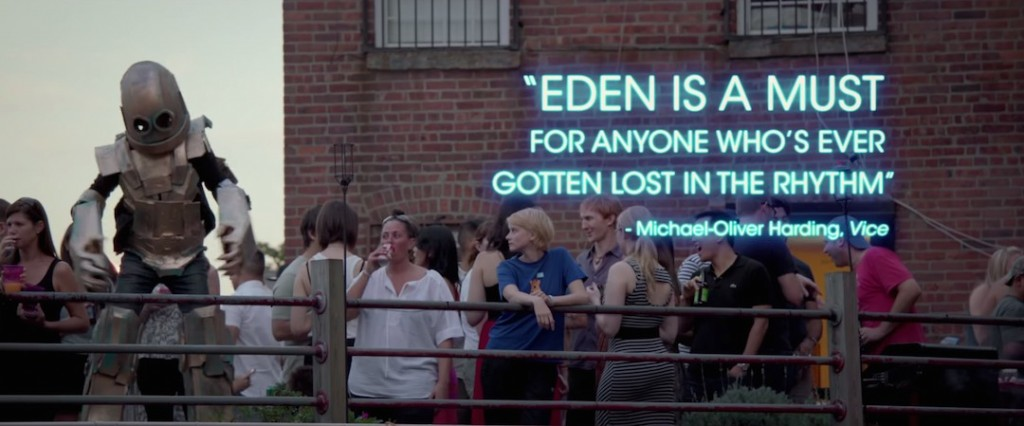 Sliding Doors Chosen To Promote Critically Acclaimed Film, 'Eden'