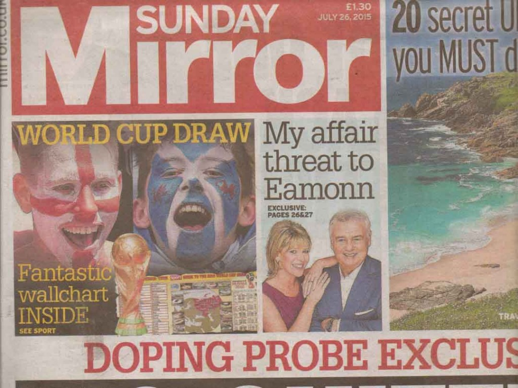 Minirigs Featured in Sunday Mirror