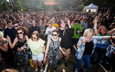 Steel City Rhythm - Peace Gardens - Tramlines 2015