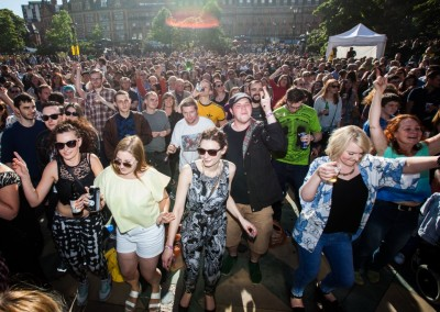 Steel City Rhythm - Peace Gardens - Tramlines 2015