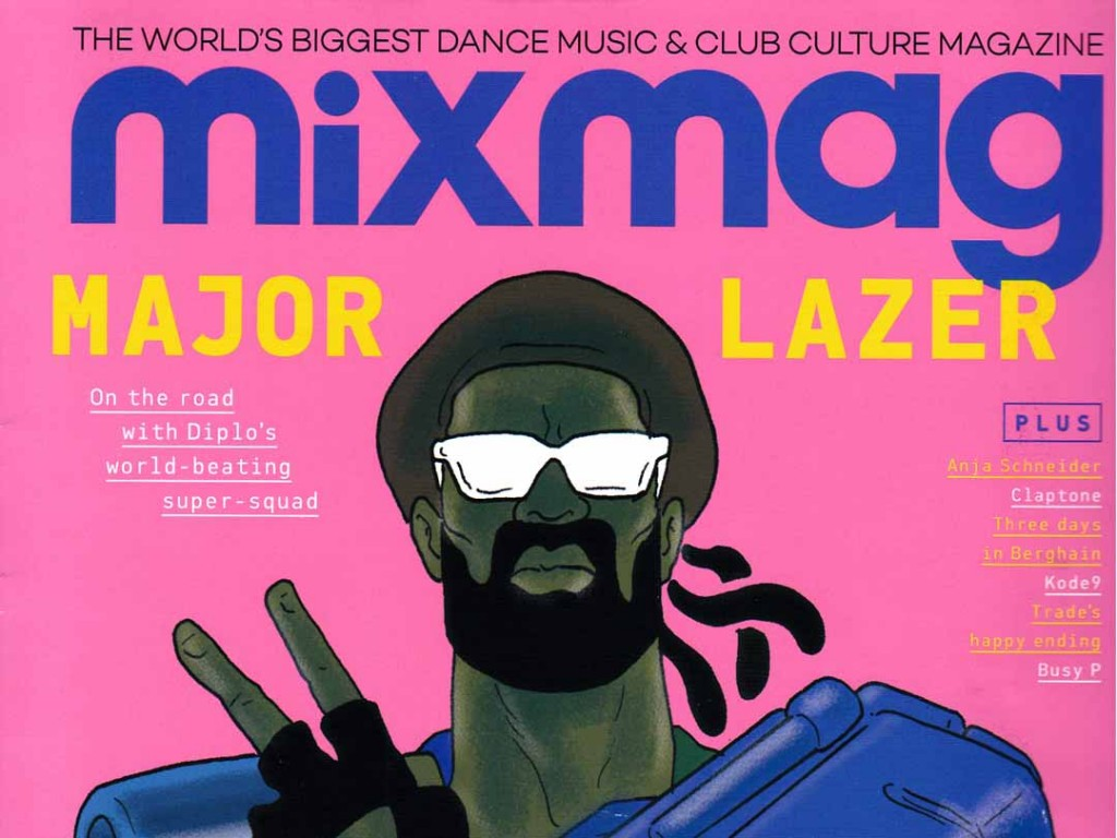 MN2S 'Key Players' feature in Mixmag