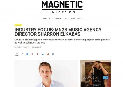 MN2S 'Industry Focus' feature on Magnetic Mag