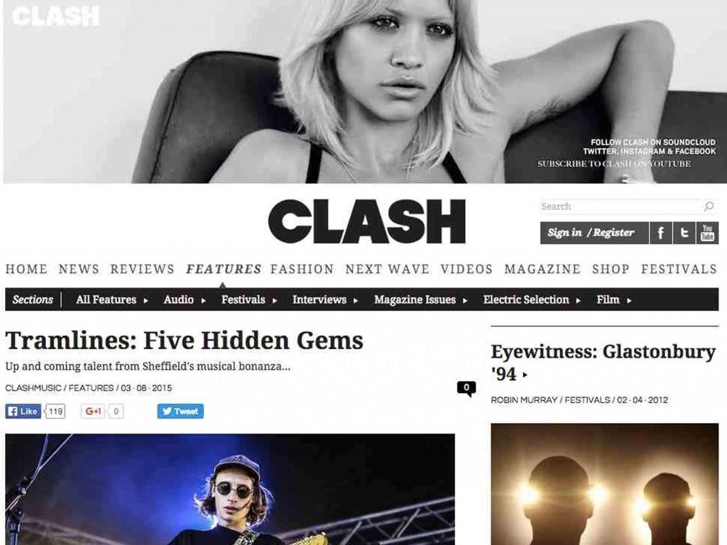 Tramlines in Clash Magazine