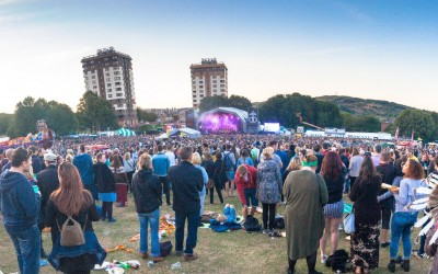 Tramlines 2015 Main Stage - Photo Simon Butler