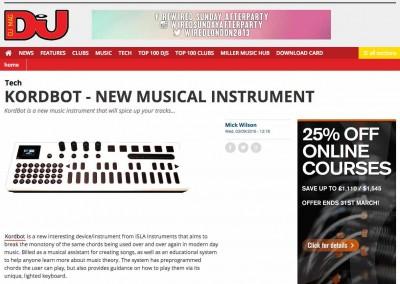 KordBot DJ Mag 1