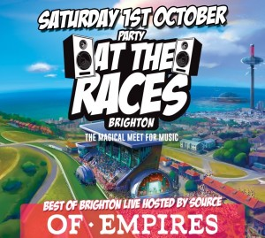 Party At The Races confirm Brighton Source to host Best of Brighton Stage