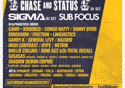 Drum & Bass Awards 2017 Artwork