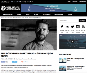 LOR Gives Track Away With Deep House Amsterdam