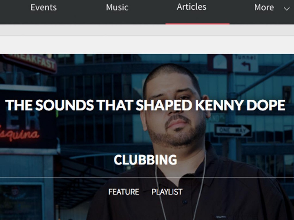 Pulse Radio Discovers The Sounds That Shaped Kenny Dope