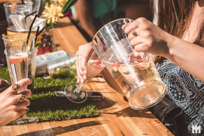 Prosecco cocktails jug