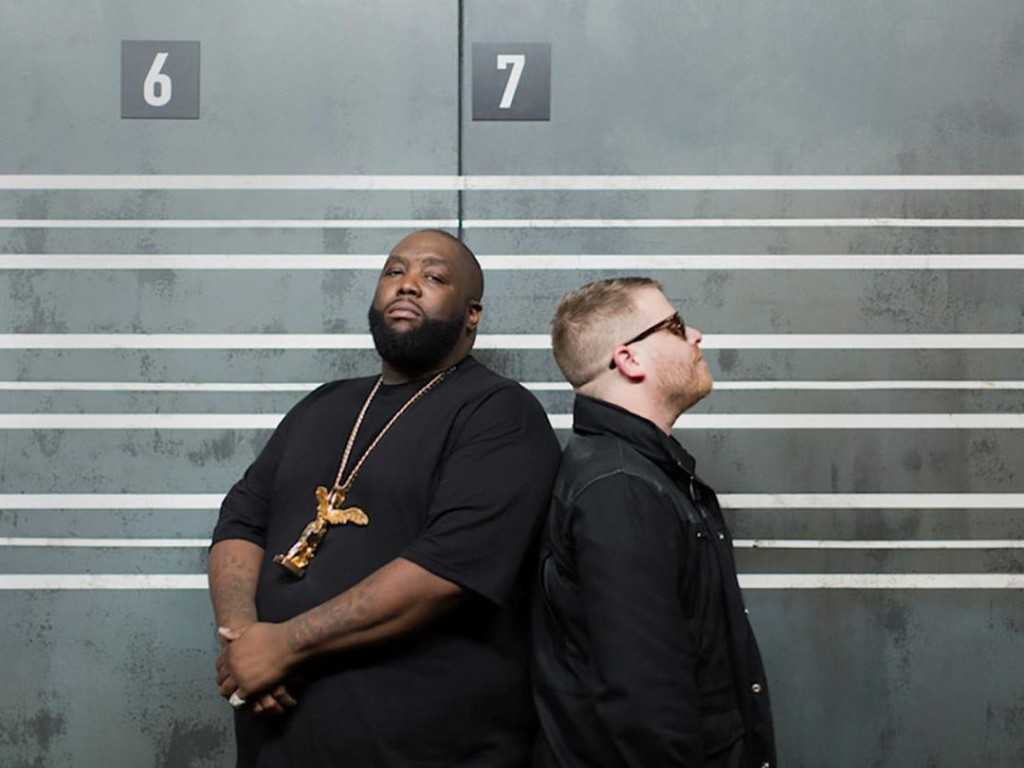 Run The Jewels land at Manchester's Victoria Warehouse