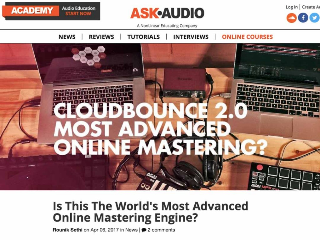 CloudBounce In Ask Audio