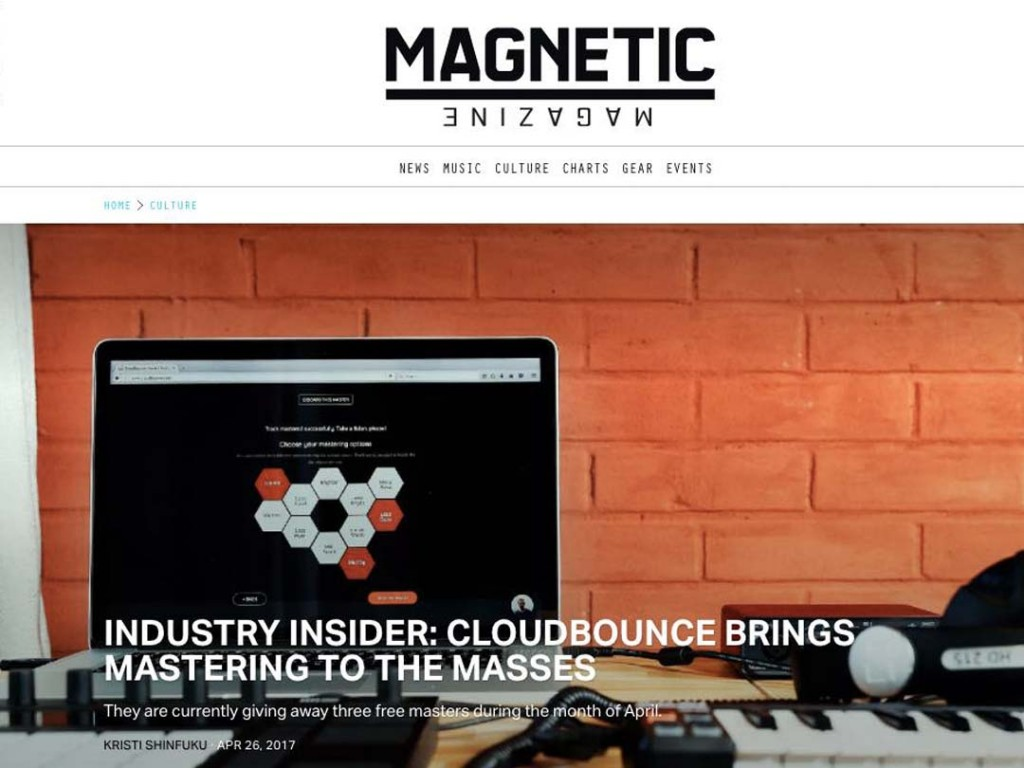 CloudBounce In Magnetic Mag
