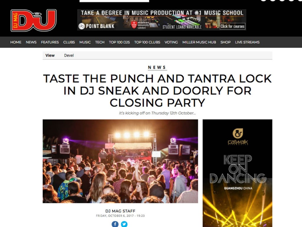 Tantra Ibiza Closing Party With Taste The Punch In DJ Mag