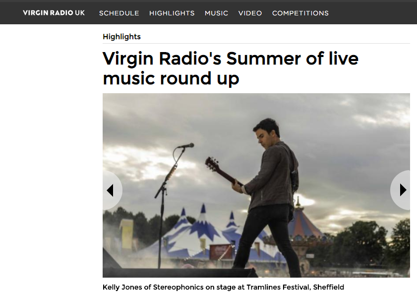 Virgin Radio Round Up Their Summer Highlights and Include Tramlines
