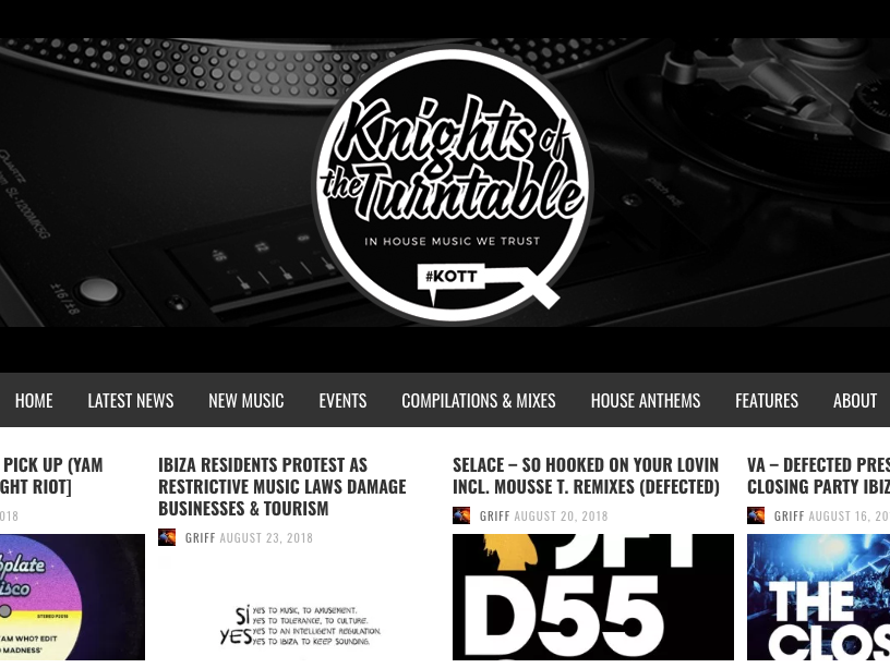 Knights of the Turntable Review DJ Q at Tantra Ibiza