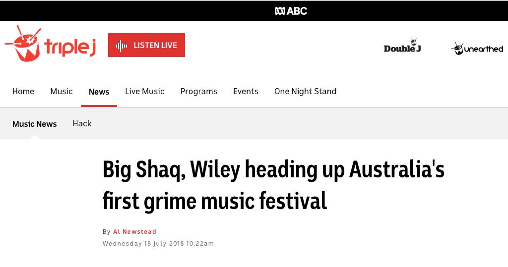 ABC Has News of Eskimo Dance Coming to Aus & NZ
