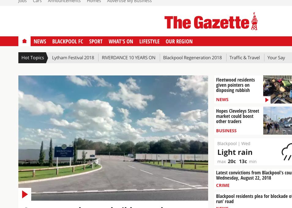 The Gazette Reviews Blackpool Festival 2018