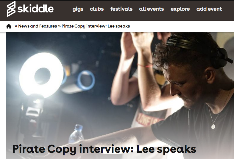 Skiddle Interview Pirate Copy Before Blackpool Festival