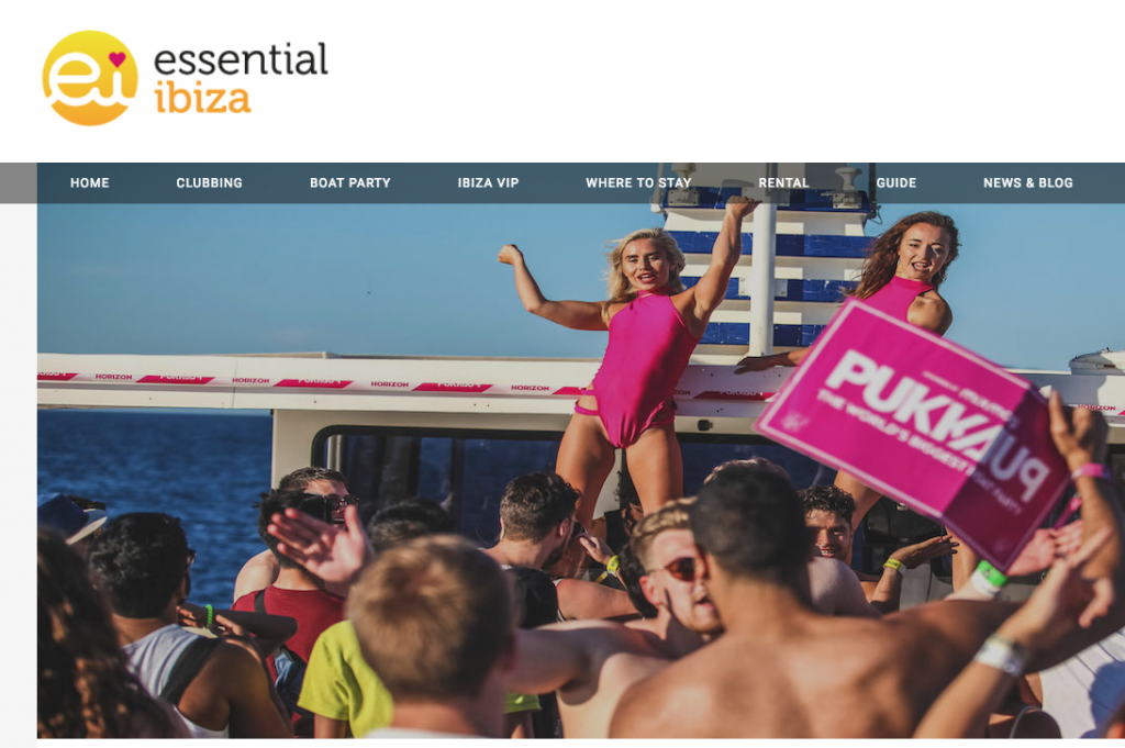 Essential Ibiza Speak to Pukka Up MD Joshua Makinson