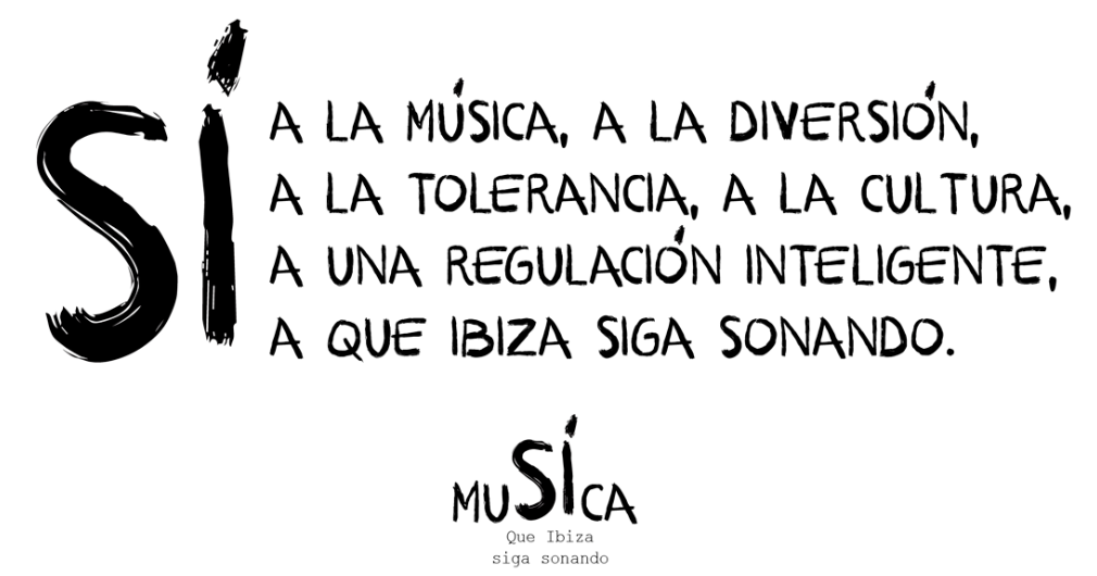 Musica Si En Ibiza Campaign featured in Magnetic Mag