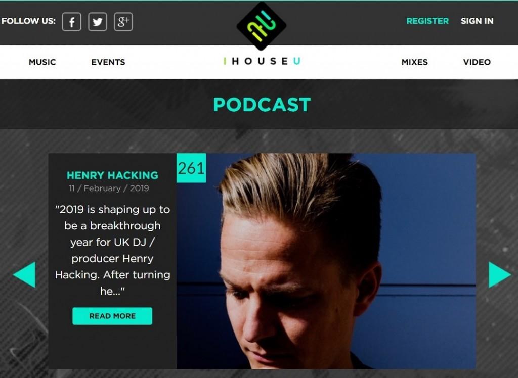 Henry Hacking IHOUSEU Podcast