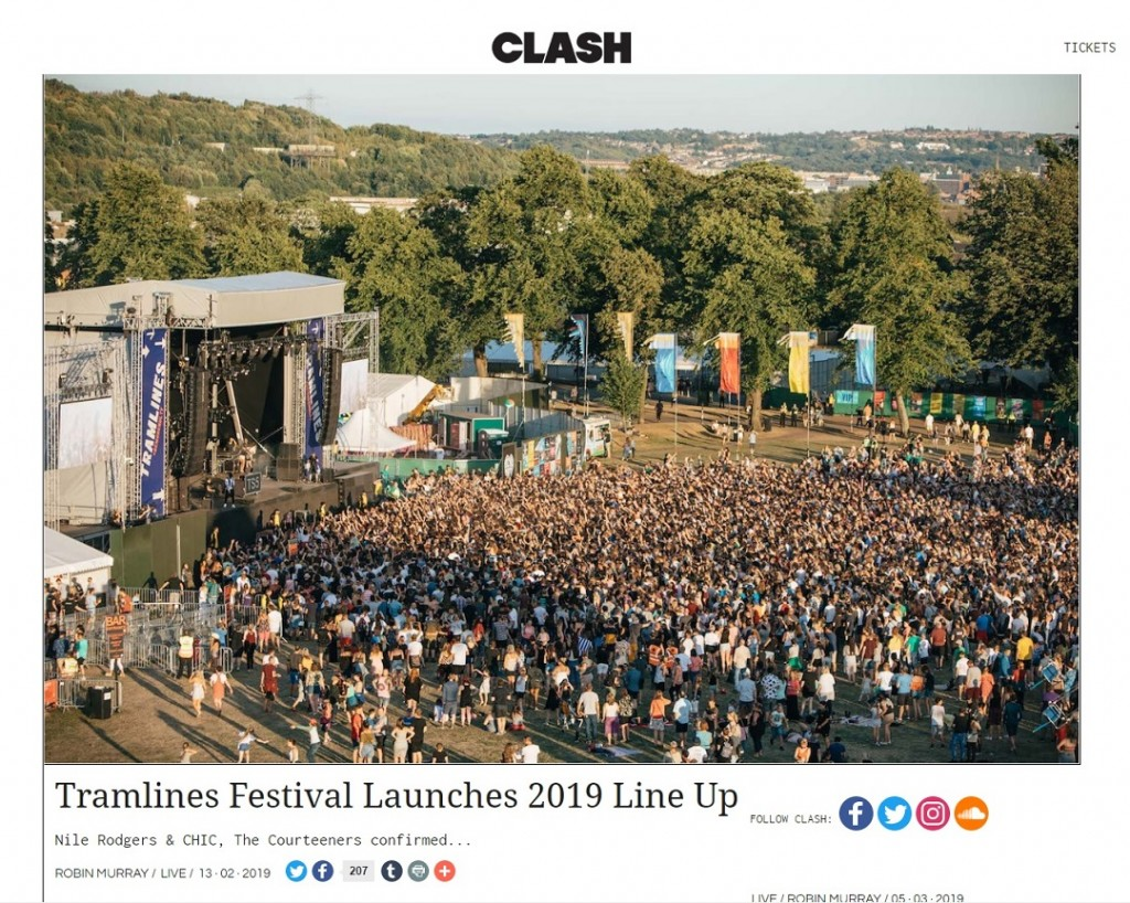 Tramlines Festival 2019 Launches Phase 1 Lineup