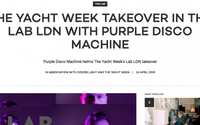 Mixmag The Yacht Week Purple Disco Machine 1
